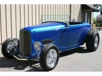 1932 Ford roadster highboy with rag top. 454, 425 hp,