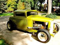 1932 Ford Three Window Coupe COMPLETE RESTORATION-