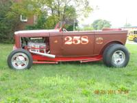 1932 Ford Tub, all steel. 1 340 hp heads, hardened
