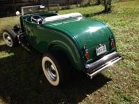 1932 Ford Highboy Roadster replica built from the