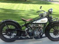 1932 Indian Chief VINTAGE, For sale uncommon matching