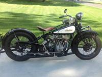 1932 Indian Chief VINTAGE, For sale unusual matching