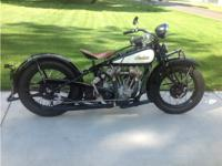 1932 Indian Chief VINTAGE, For sale rare matching
