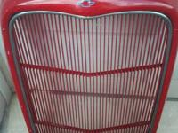 1932 OR 1933  FIBERGLASS FORD GRILL, RED , ANY QUESTION