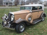 1932 Studebaker Six Convertible Sedan. The Studebaker