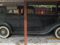 "1933 Dodge sedan '6"" all original..... new tires, brake"