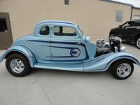 Steel 5 window coupe. Build appears t be relatively