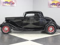 Stk#051 1933 Ford 3-Window Coupe Ronson Street Rod