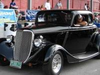 1933 all steel 5 window Coupe-ZZ 4 motor, 700R Trans.,