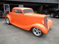 1933 Ford, Model A, 3 window Coupe ~ Custom Build Hot