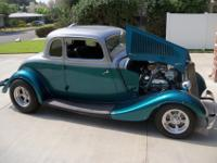 1933 Ford 5 window coupeThis is not a reproduction or
