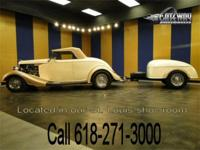 1933 Ford Roadster with matching trailer for sale! Have