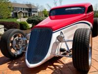 1933 Ford Coupe Speedster. Professionally built by