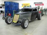1933 Ford Speedstar. Rats Glass Body. Frame, Suspension