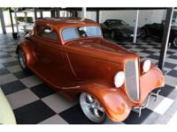 1933 Ford 3window Coupe. This is one finest street rods