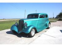 1933 Ford Vicky. Downs glass body and fenders. Steel