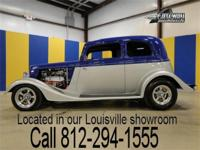 1933 Ford Vicky streetrod with only 1.711 miles since