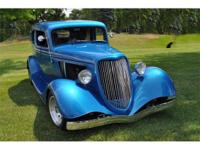 This 1933 Ford Victoria is Clean, Straight, Strong,
