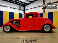 1933 Plymouth 5 window coupe street rod with 3,292