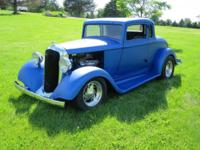 1933 Plymouth Coupe.. Fresh 440 Magnum & 727 Auto