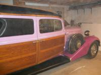1933 Pontiac (Henney) hearse, This is a rare