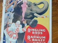 I have a very cool 1933 Ringling Brothers Barnum &