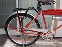 1933 SCHWINN B10E PACKARD MOTORBIKE. REPAINTED/REPLATED