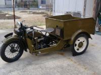 1934 Harley-Davidson Model RR Truck.I only know pre WW2