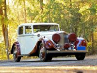 1934 Bentley Derby Sports Saloon RWD -Chasssis B165BL