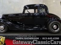 Stock #602-TPA 1934 Chevrolet Master 5 Window Coupe