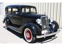 1934 Chevrolet Master 4 door sedan, with only 56,500