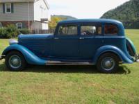 1934 Dodge4-Door Sedan, 6 Cyl. RWD3rd owner. This