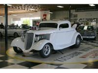 Immaculate 1934 Ford 3 Window Coupe Pro Street - One of