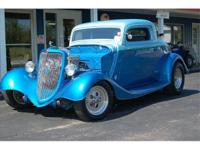 1934 Ford 3 Window Coupe Priced Right!! Powered by 400