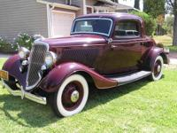 I'm selling this beautiful 1934 Ford for my father.
