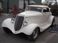 1934 Ford Cabriolet -Replica (GA) - $13,900 2 dr