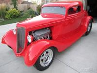 This 1934 Ford Coupe is a rare classic gem. This