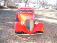 1934 Ford Coupe (KS) - $35,000 2 door, 3 window, fiber