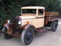 1934 FORD DUMP TRUCK rare eye catcher, great for