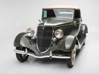 1934 marked the final year of production for the Ford