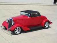 1934 Ford Roadster Steel Dody-Wescott Fenders-350 Chevy