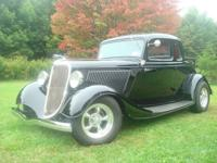1934 Ford rumble seat coupe.     -Rare find, all Henry