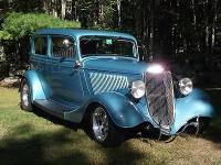 1934 Ford Streetrod for sale (NH) - $45,000. 350 chey