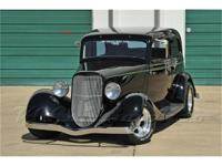 This all steel 1934 Ford Vicky not only looks great,