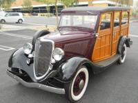 1934 Ford Woody Wagon  Flathead V8 Stock Air Cleaner 6