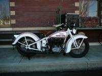 1934 Harley-Davidson VLD restoredspecified that the