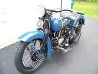 1934 Harley Davidson VLD. In the VL series, the VLD is