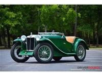 This 1934 MG PA 2dr Midget . It is equipped with a