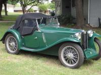 1934 MG PA.  Purchased in 1992 as an abandoned