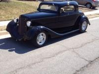 Chevy 3 Window Coupe. Outlaw Body, 1934 Chop top 3